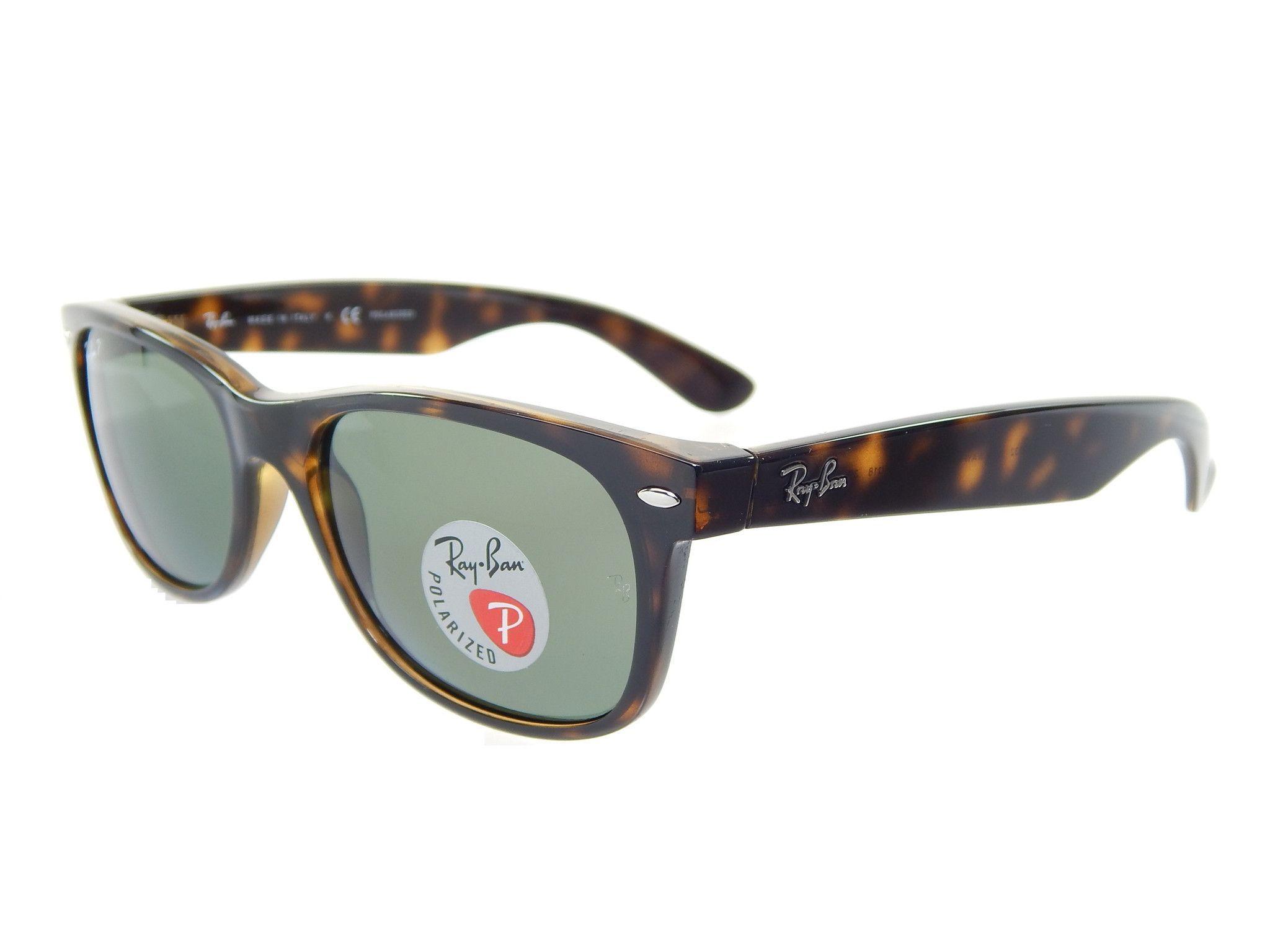72e2f43846 ... sale ray ban wayfarer rb2132 902 58 tortoise green classic g 15 55mm  polarized 50721 d83d5