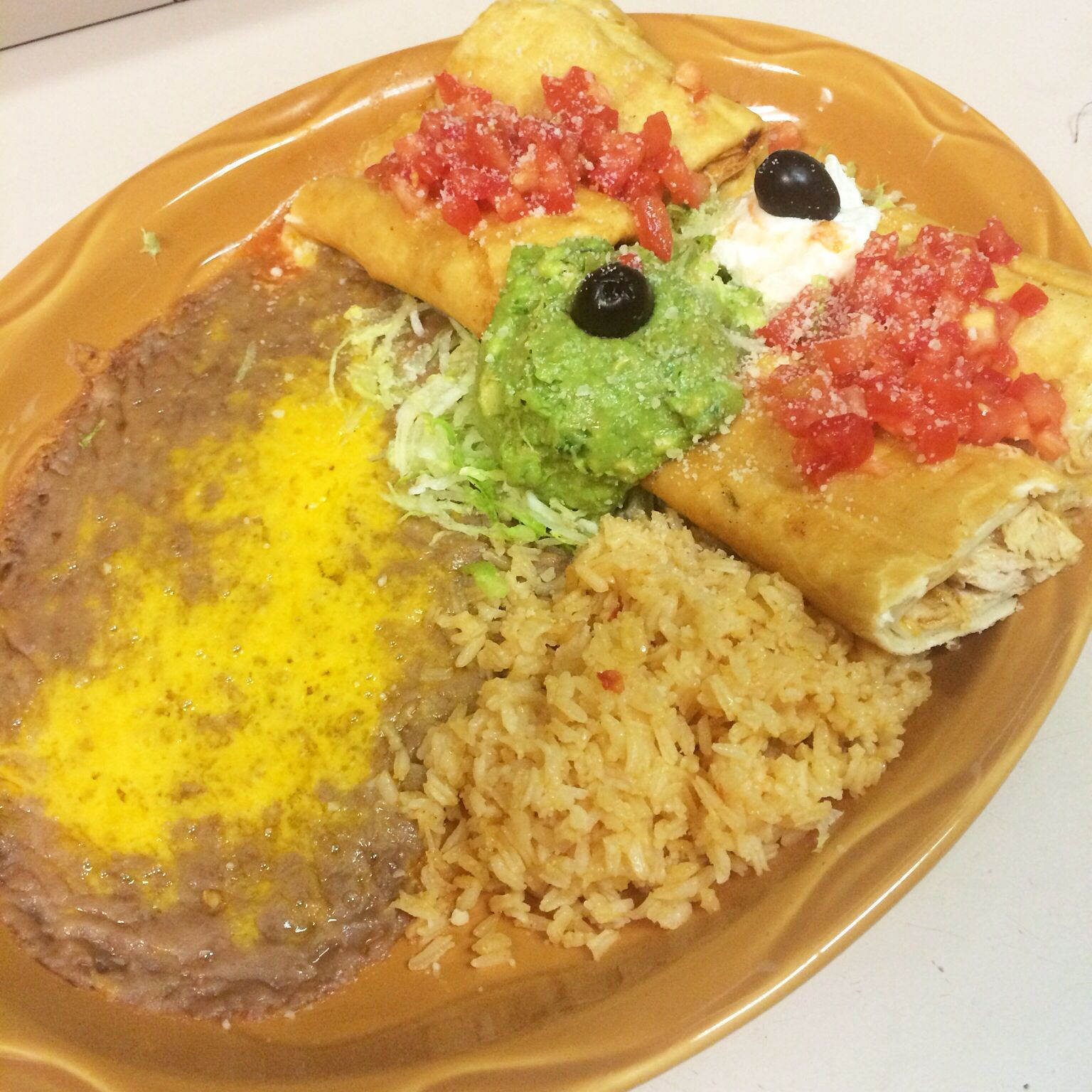 Our Yummy Flautas Chapalaseugene Chapala Oregon Mexicanfood