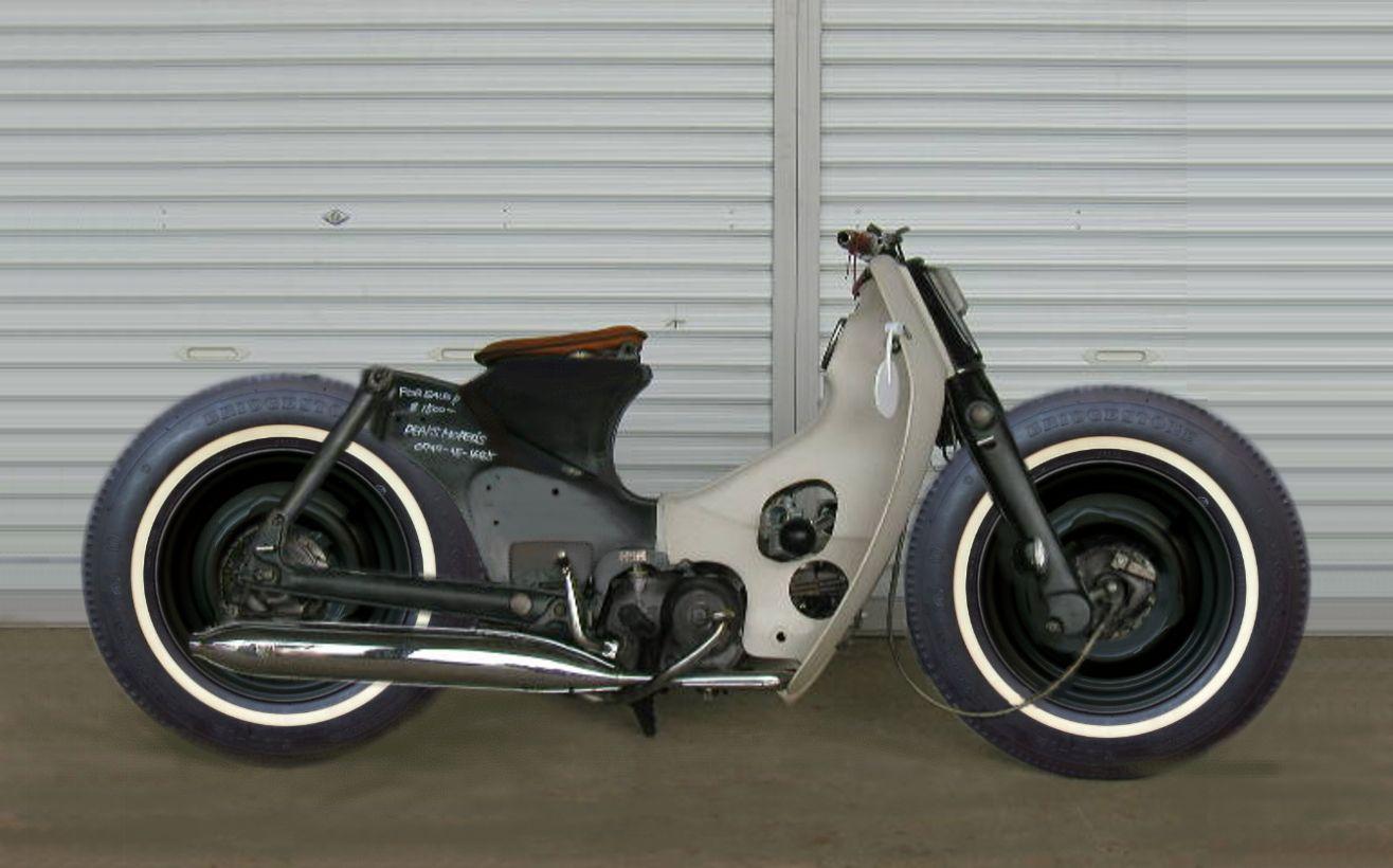 Super Cub Aaahhhhh No More Ocd T Honda Wiring Diagram C700 Hot Rod 50 1975s