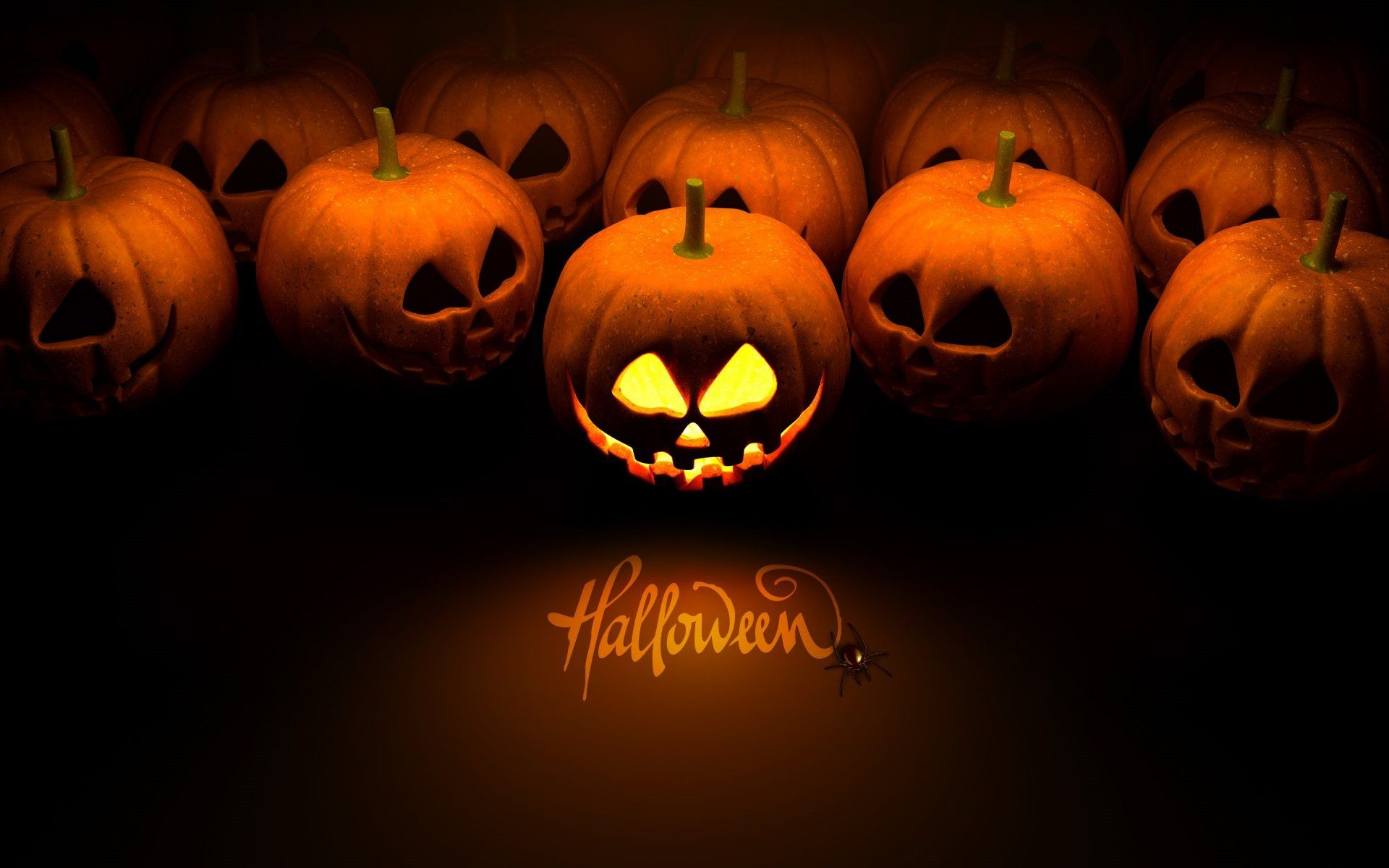 Holiday Halloween Holiday Jack O Lantern Wallpaper Halloween
