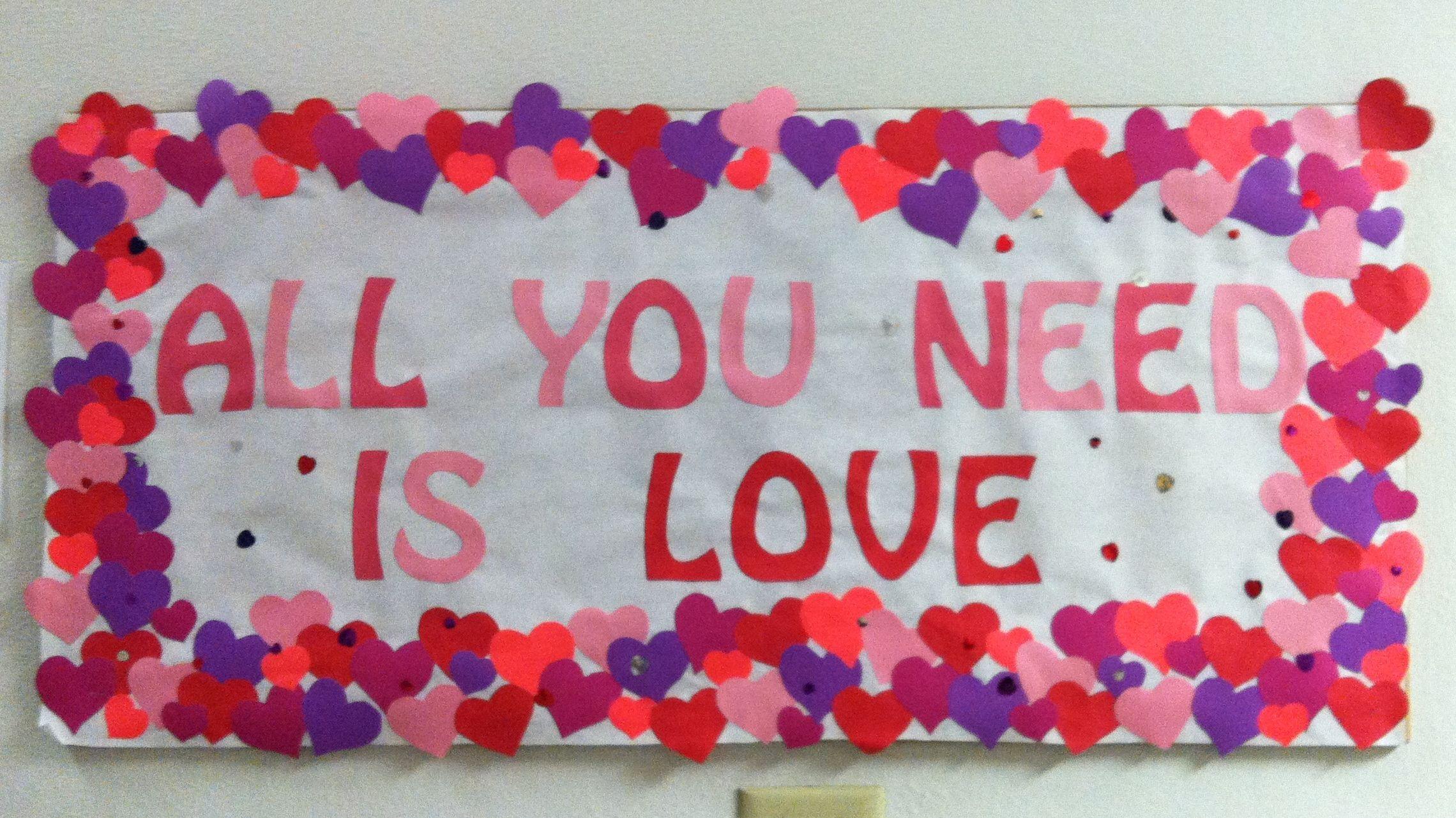 #valentinesdaybulletinboardideas
