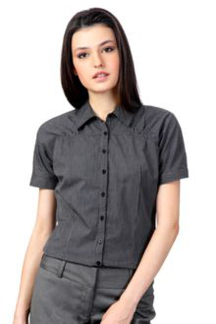 a9ae88926fcceb Allen Solly Shirts, business casual Regular Fit Striped Shirt for women.