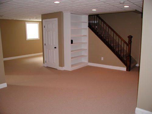Finished basement remodeling basement ideas change to for Finishing basement bathroom