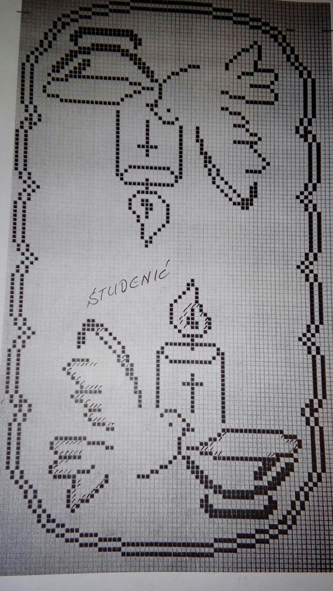 Pin Di Teresa Acunzo Su Fantasia Filet Crochet Cross Stitch Kits