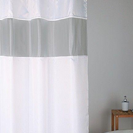 Hotel Peekaboo Shower Curtain Shower Curtains Rods Bath