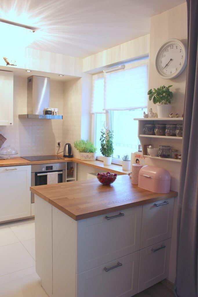 Mala Kuchnia W Bloku Czyli Jak Rozplanowac Mala Kuchnie Kuchnia Smaku Kitchen Home Decor Home