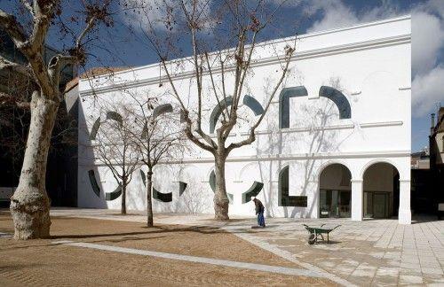 Ampliación del Centre de Cultura Contemporània (CCCB). Barcelona   José Antonio Martínez Lapeña & Elías Torres Tur, arquitectos