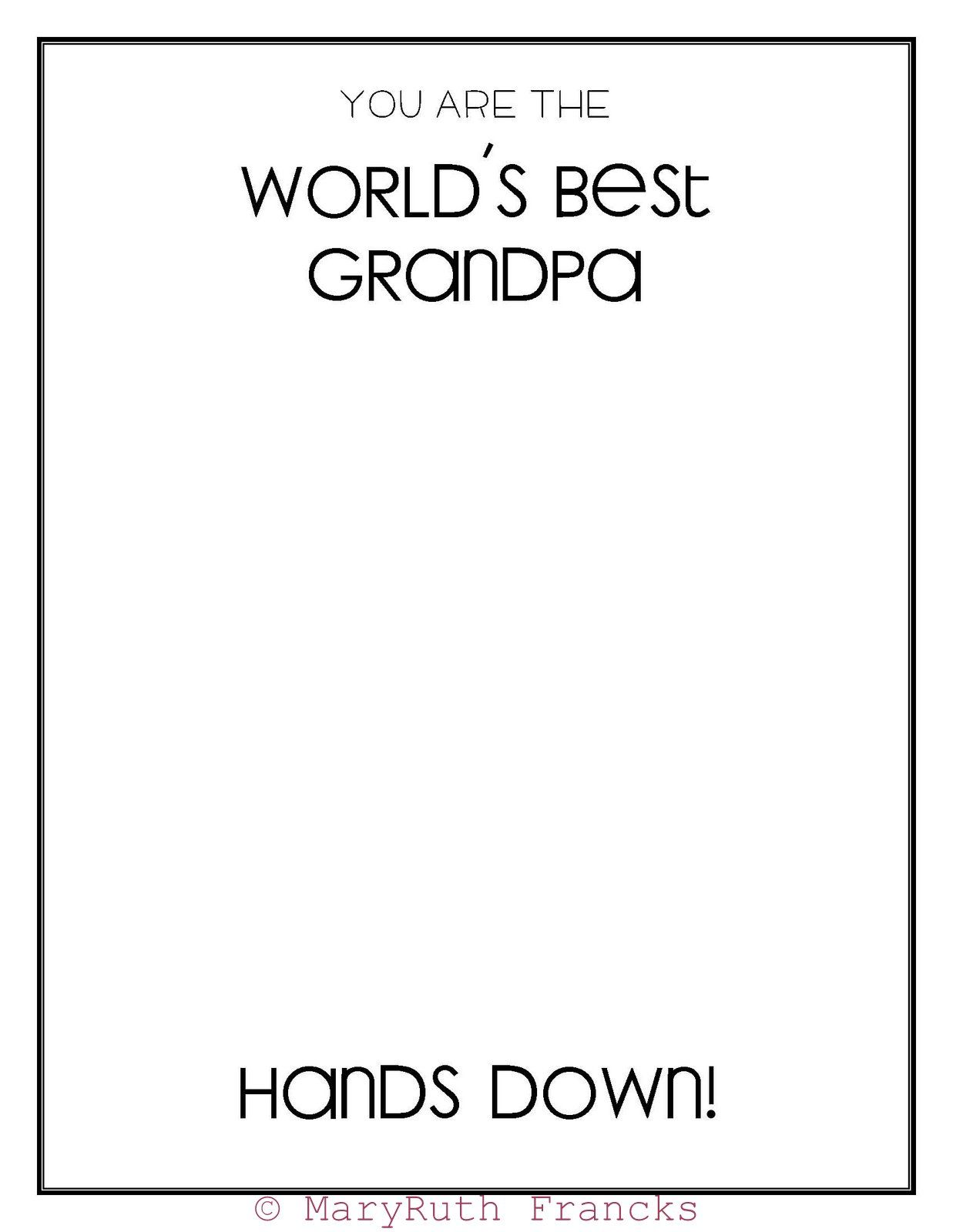 World S Best Grandpa