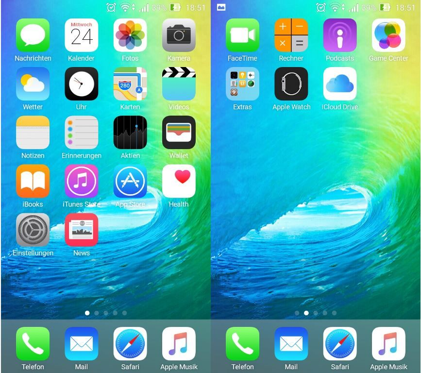Iphone 5s launcher fake iphone 5s launcher 1 2 for android.