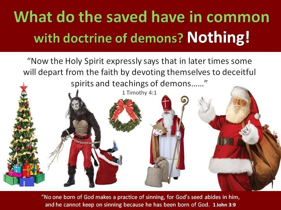 The Truth About Christmas.1 Timothy 4 1 Unwrap The Truth About Christmas Exposing