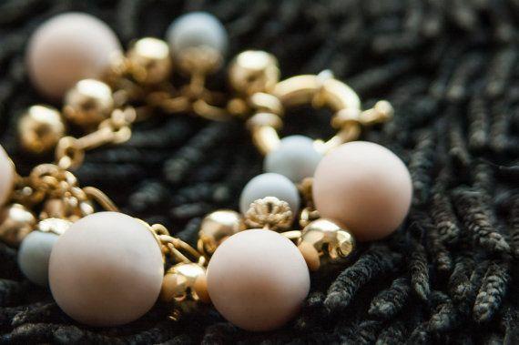 Tribal Bracelet Mise En Tribal Bracelet Pink Gold by candyfoxx