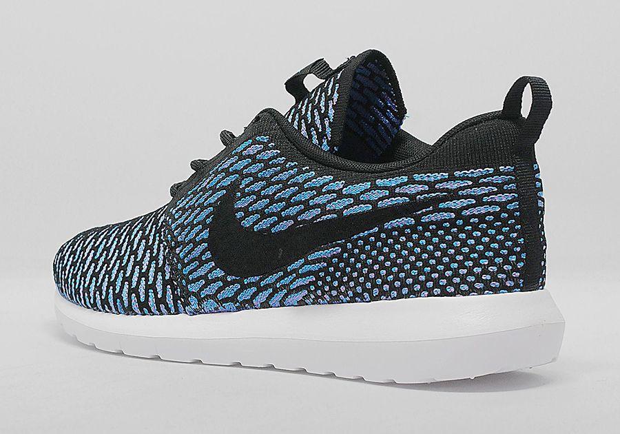 71ad972c9c55 Nike Flyknit Roshe Run -Neo Turquoise (Release Date- Fall 2014)  kicksfever   nike  rosherun  flyknit