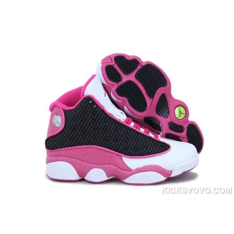Women's Air Jordan 13 3D Eyes Black Pink at kicksvovo.com. Discount Nike  ShoesDiscount ...