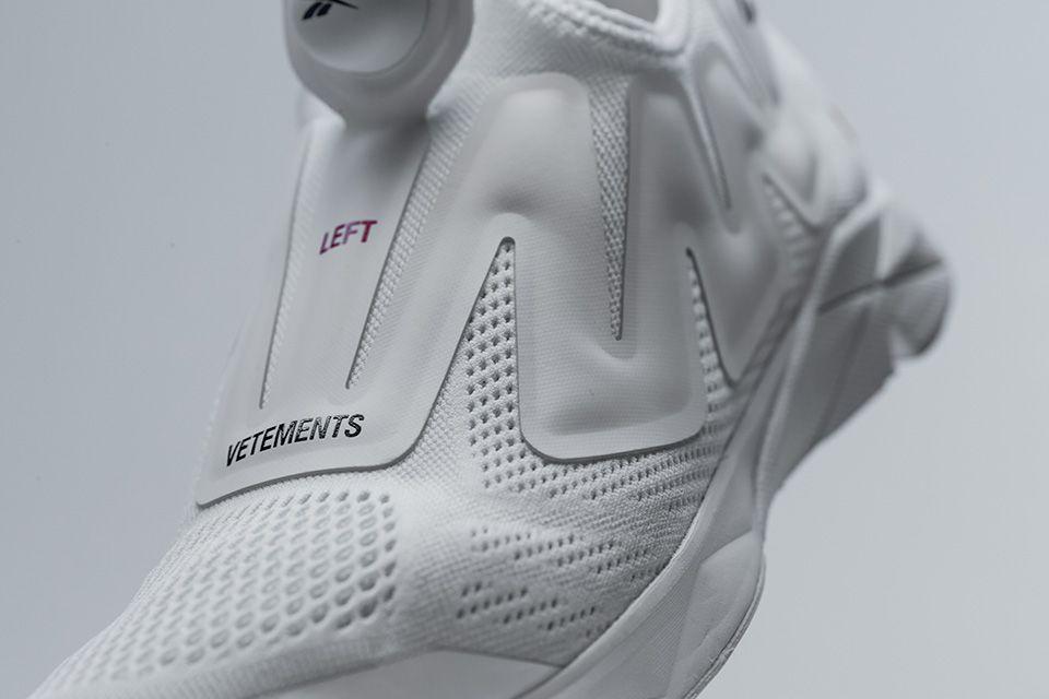 Vetements x Reebok Pump Sneaker  Here s Our Best Look Yet ... 8447f9e887f5