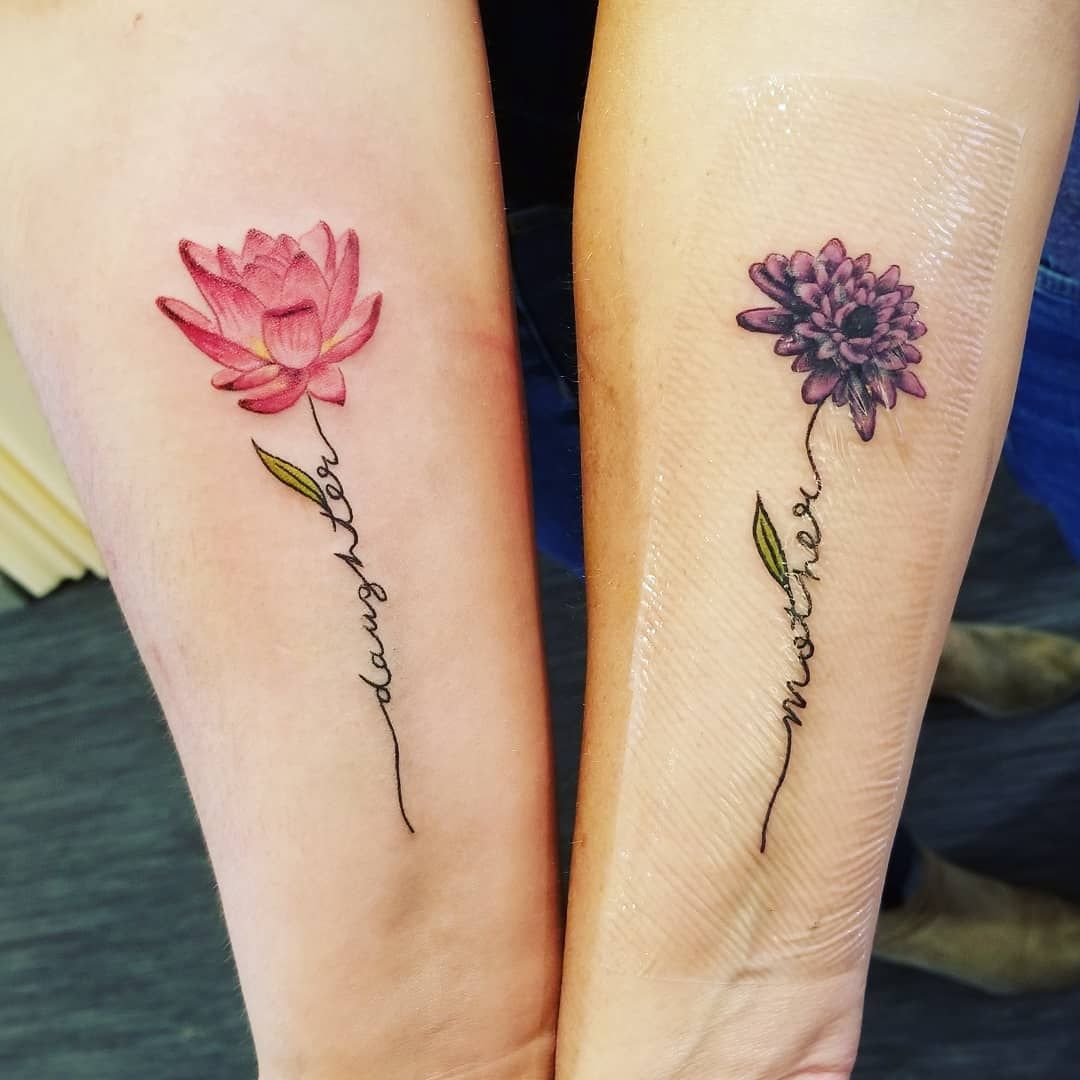 Near or Far, These 112 Mother-Daughter Tattoo Ideas Will Keep You Together