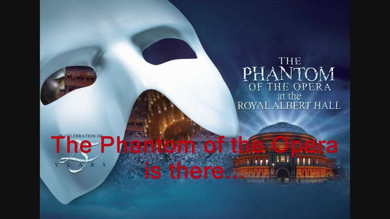 Phantom Of The Opera Title Male Karaoke Track Sing With Sierra