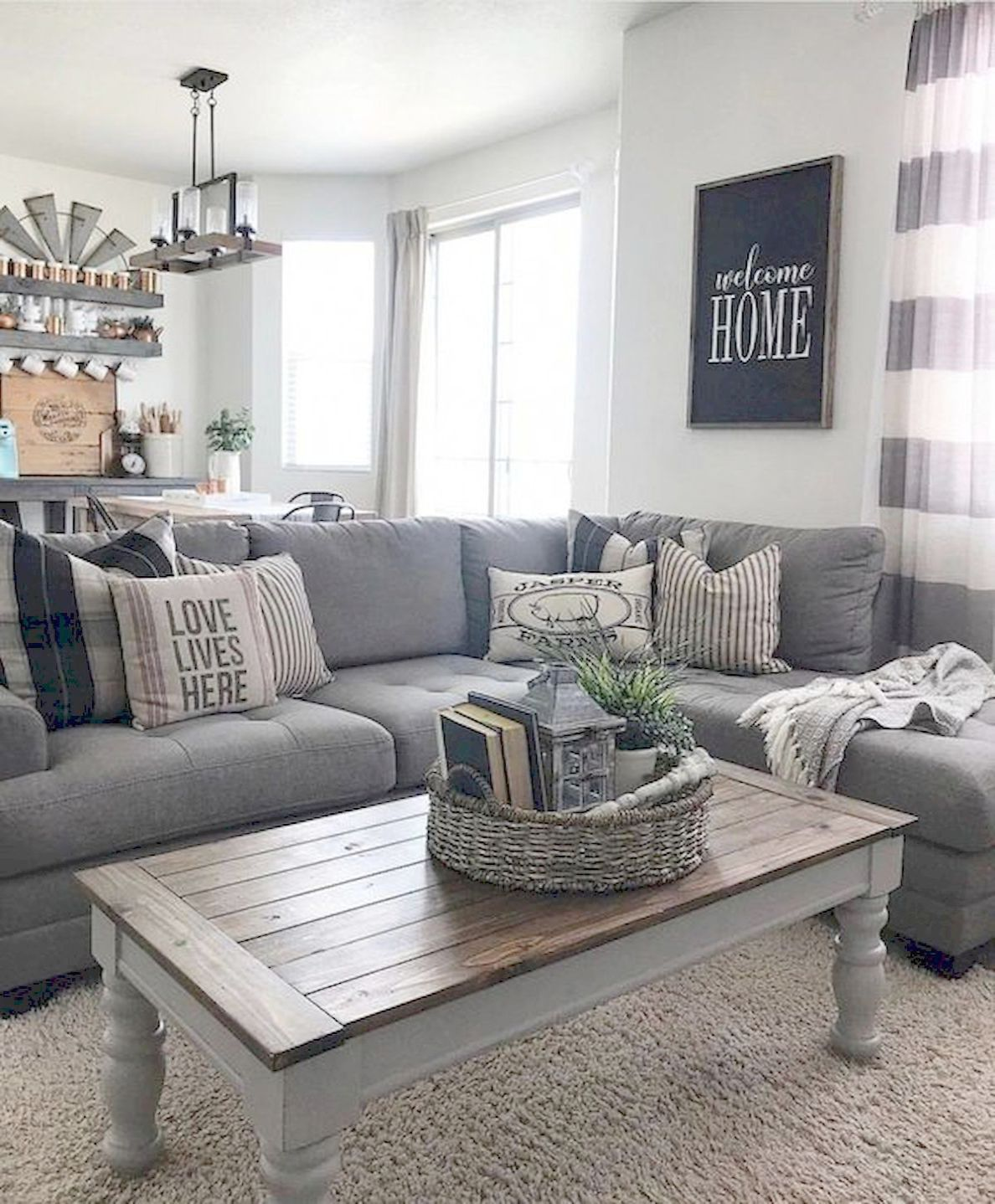 Home Decorators Collection Royce Hall Tree Along With Home Decor Diy Ideas One Farm House Living Room Farmhouse Decor Living Room Modern Farmhouse Living Room