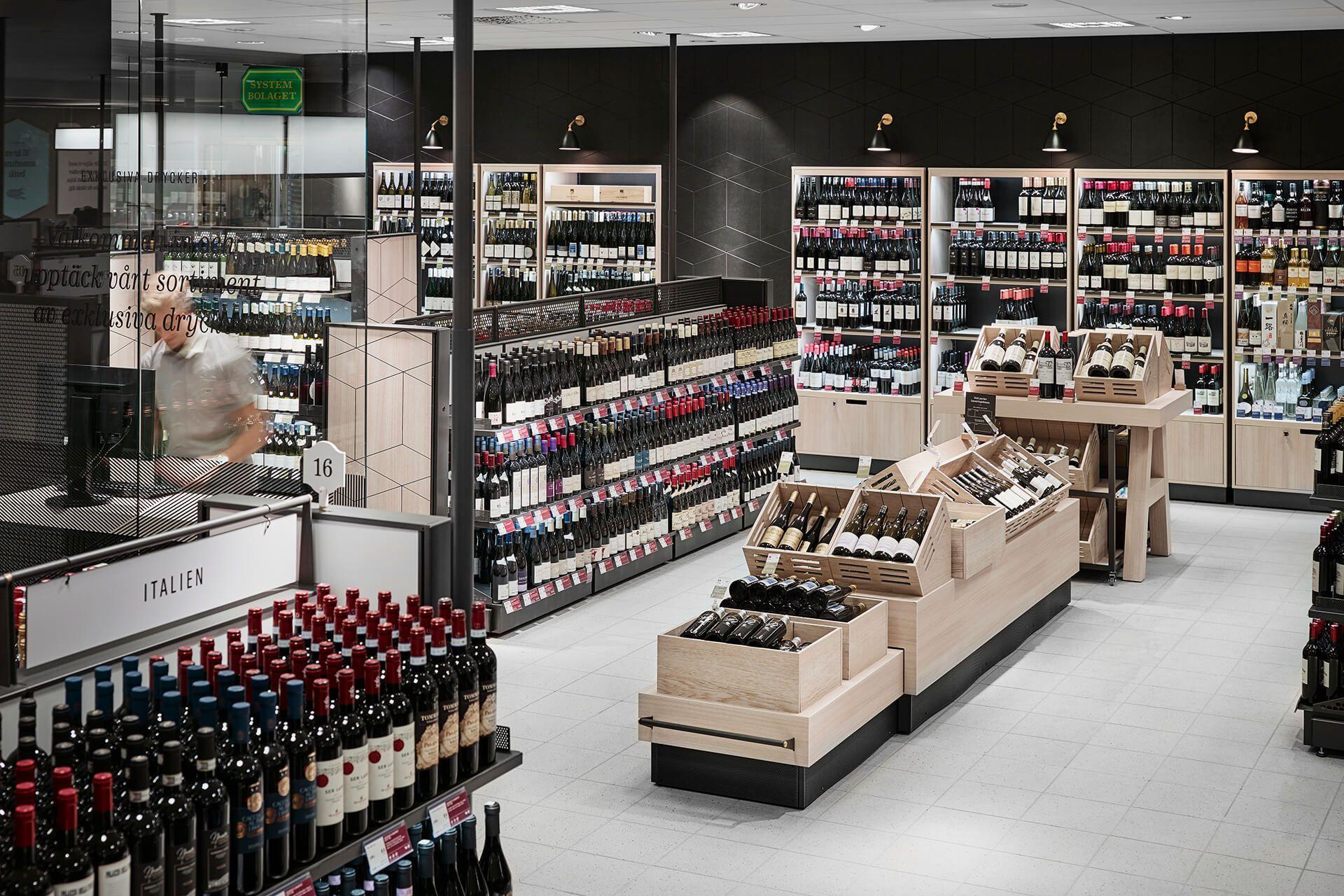 Systembolaget Caseimage Exklusiva Drycker Oversikt 3 Hansa In 2020 Wine And Spirits Store Store Layout Repurposed Wine Bottles