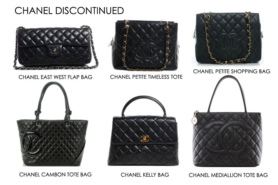 92e4abd3ce71ef Chanel Discontinued Bags | ○F A S H I O N○ | Bags, Chanel, Fashion