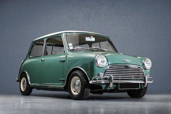 austin mini cooper s verte 1966 mini mini. Black Bedroom Furniture Sets. Home Design Ideas