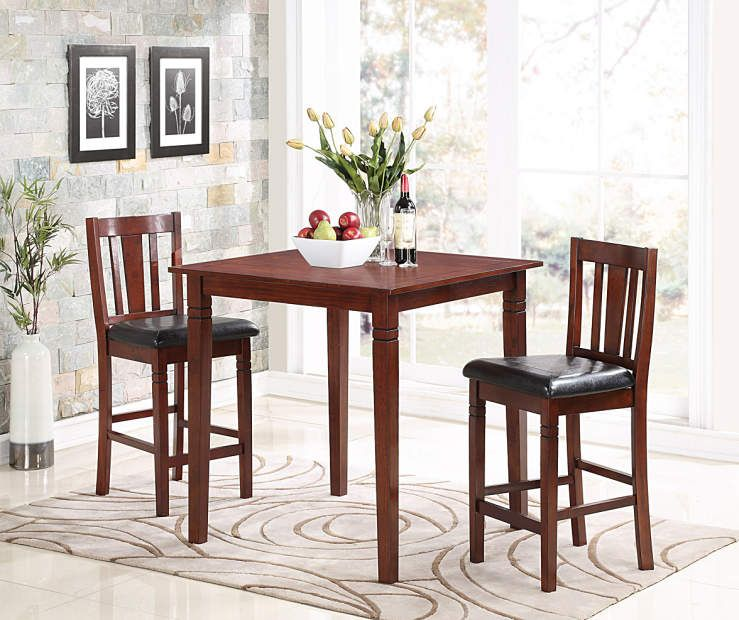 3 Piece Square Pub Dining Set | Big Lots
