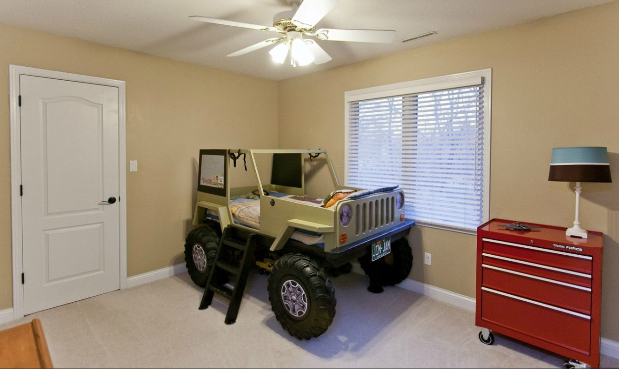 Jeep Bed Plans Twin Size Car Bed Jeep bed, Car bed