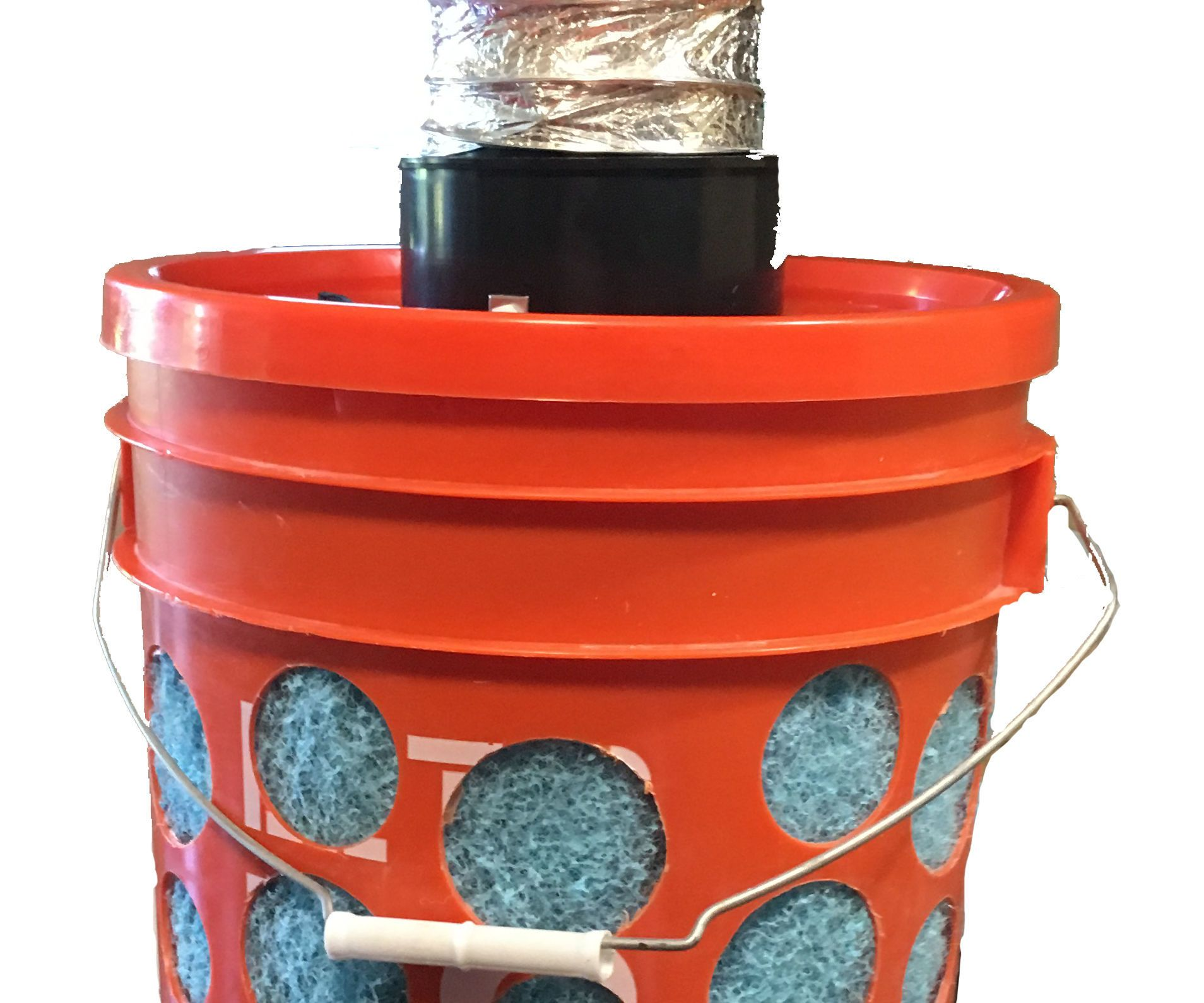 diy swamp cooler 5 gallon bucket