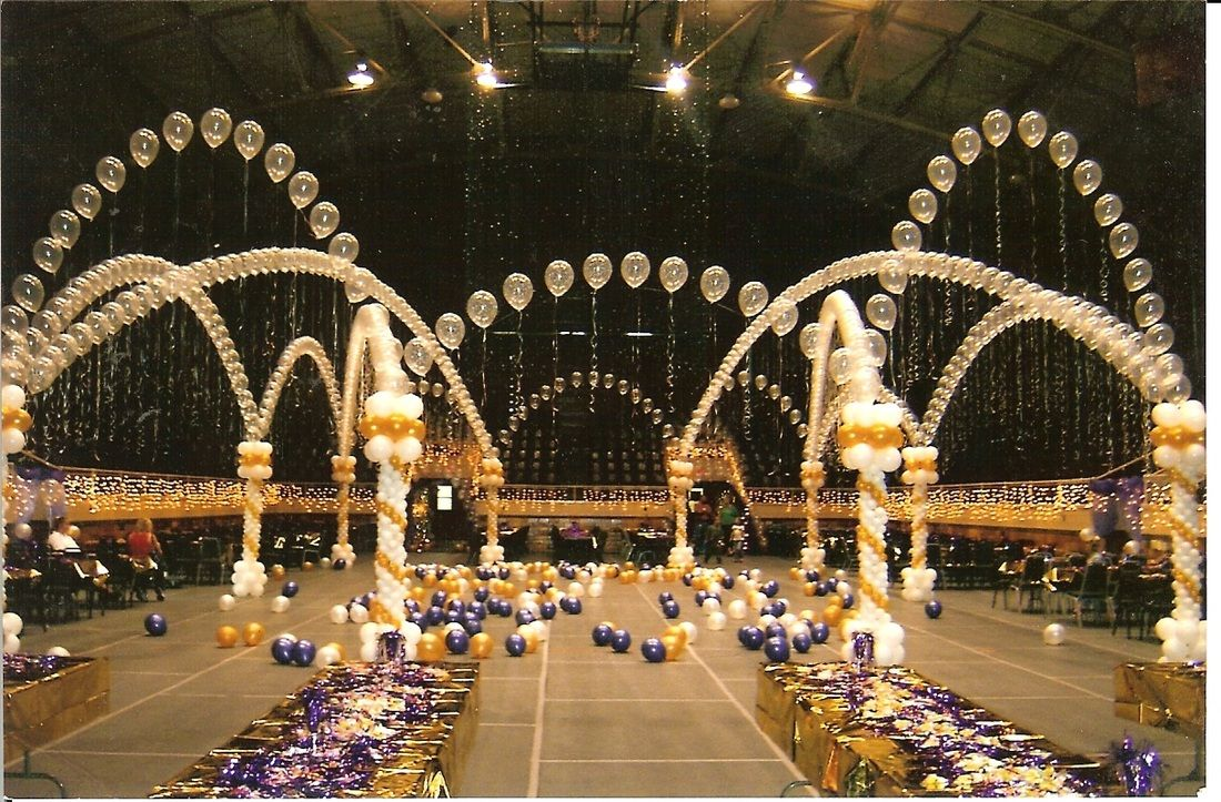 The sky is the limit when it comes to graduation prom for How can prom venues be decorated