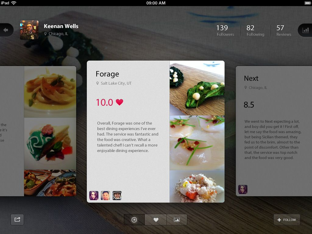 Foodie App by Keenan Wells