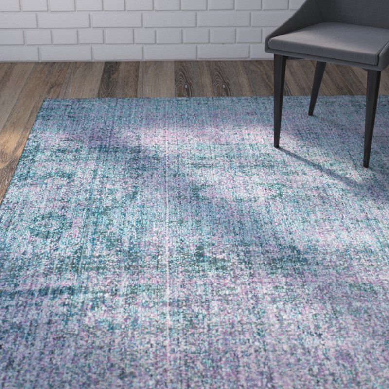 Mulhall Blue Puple Turquoise Area Rug With Images Area Rugs