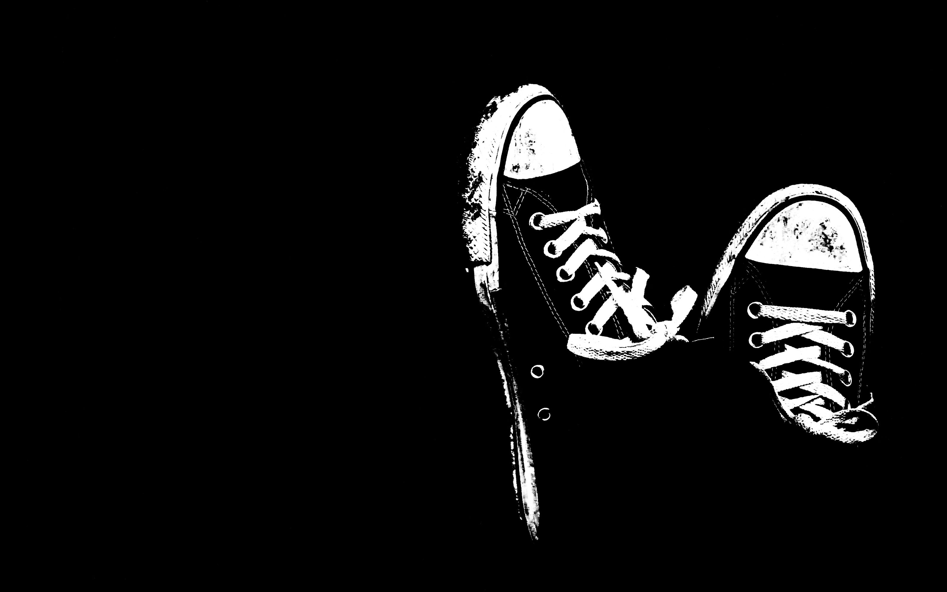 Cool Abstract Shoes Black Background Hd Wallpaper Images Free
