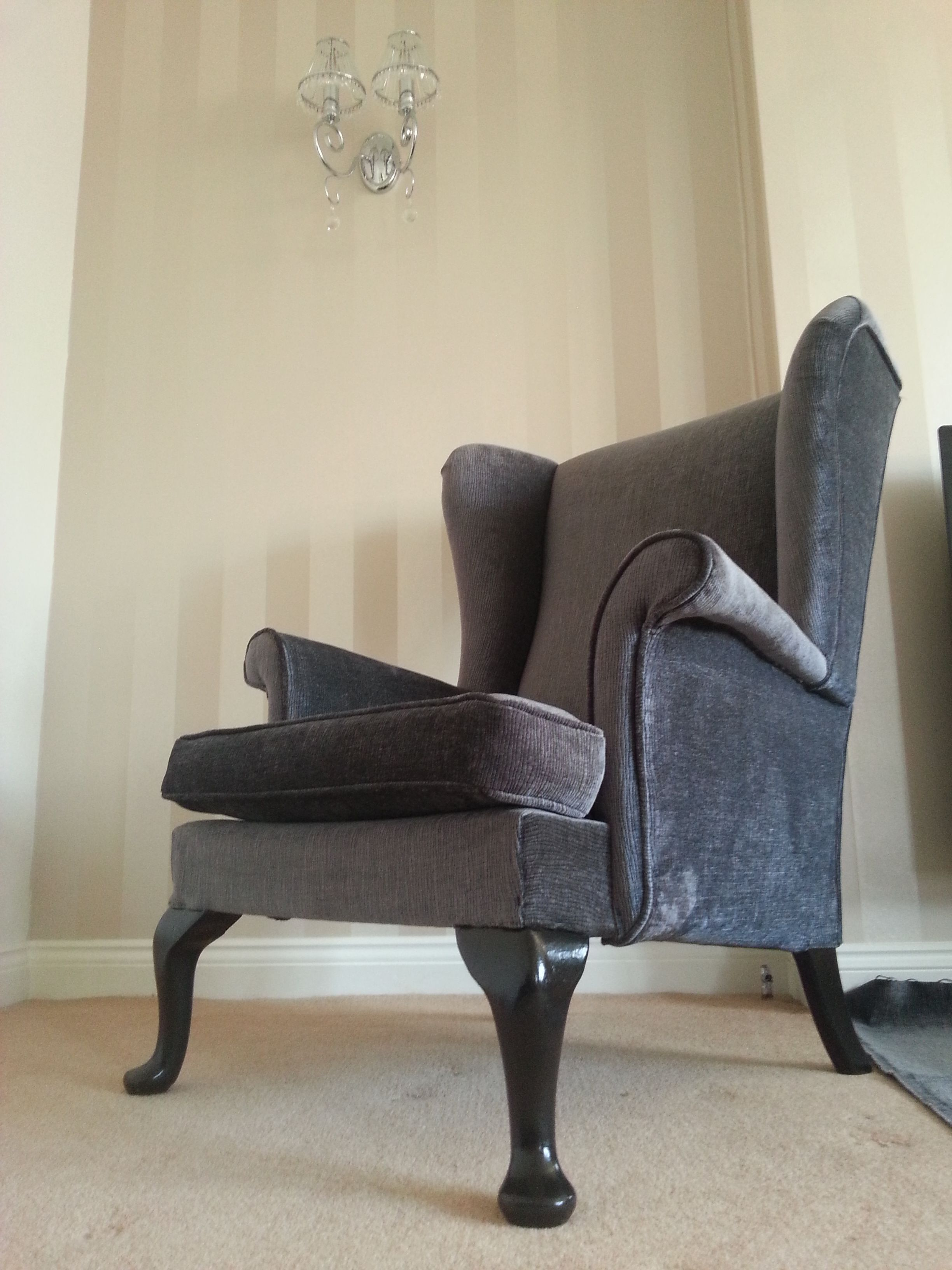 Original Parker Knoll Modernised Chairs for sale, Wing