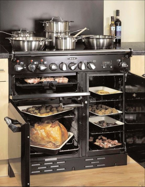 Pinner Says Coolest Oven Ever It S The Aga Legacy Electric 36