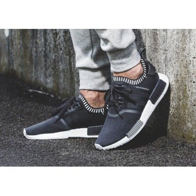 Adidas NMD R1 Primeknit 3 Colorways Core Black Clearance Sale ... a50aa6da6