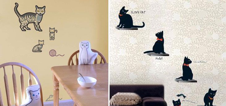 More Than 50 Cool Ideas For Cat Themed Room Design | DigsDigs
