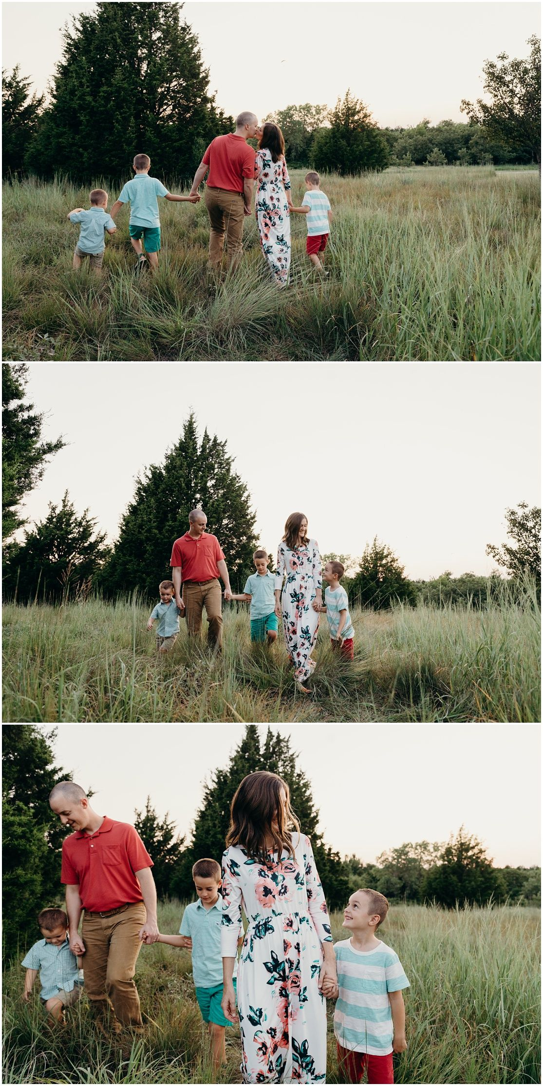 Family Holding Hands In Field Outdoor Lifestyle Photography By Melissa Harms Photography Edmond Ok Phot Lifestyle Photography Family Photographer Photography