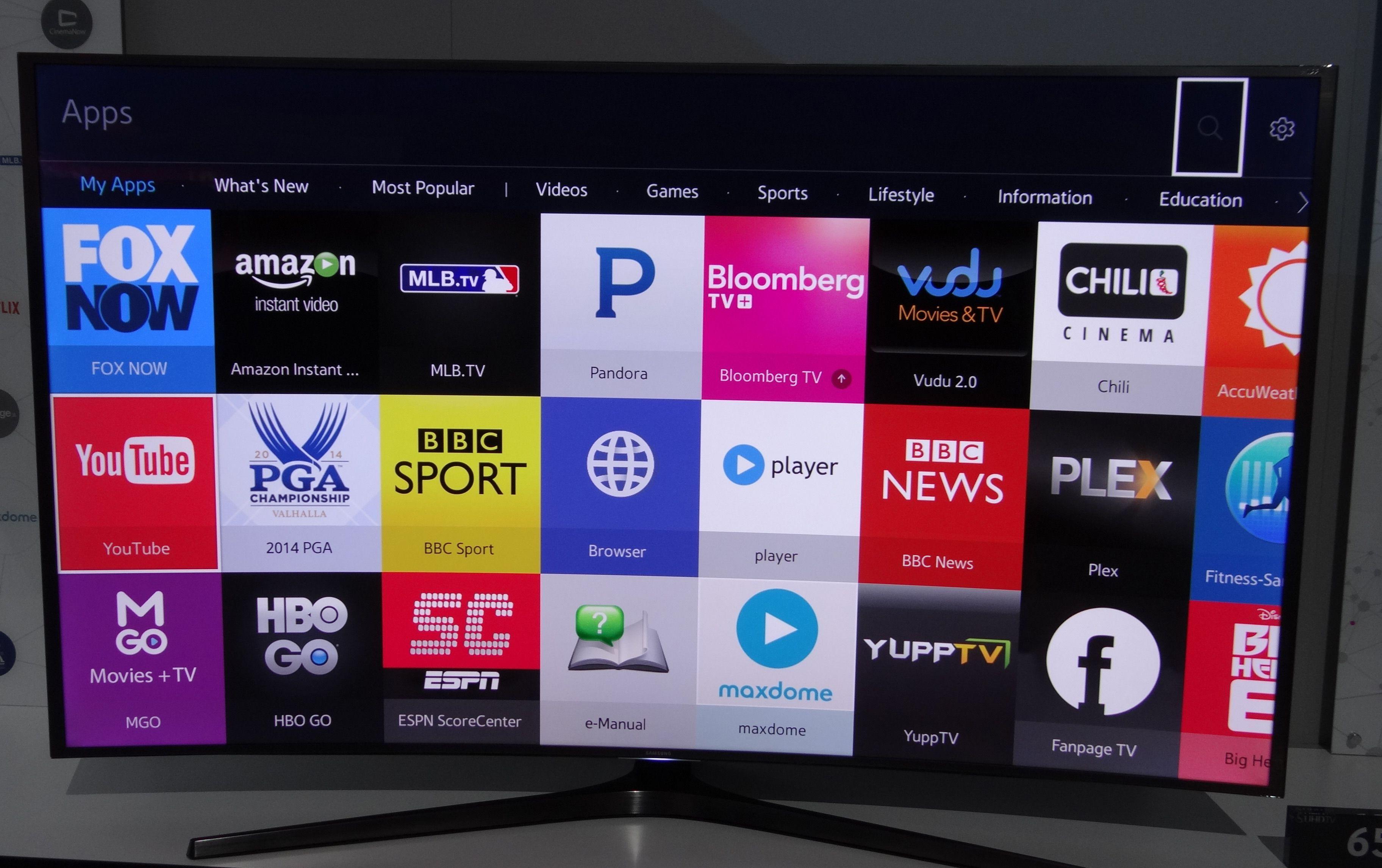 Samsung Tizen TV | TV UI | Instant video, Video games, Movie tv