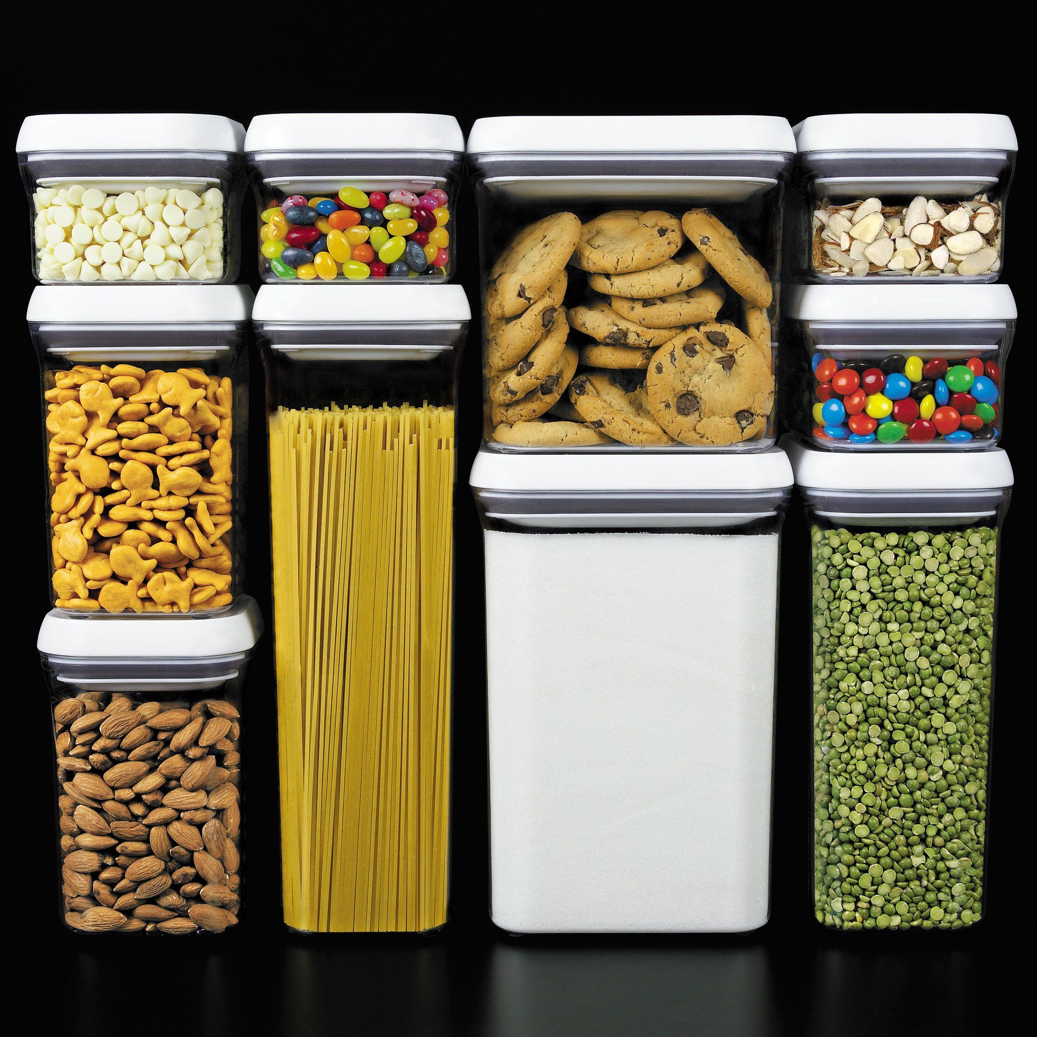 OXO 10 Piece Good Grips Pop Containers Set Storage Organization