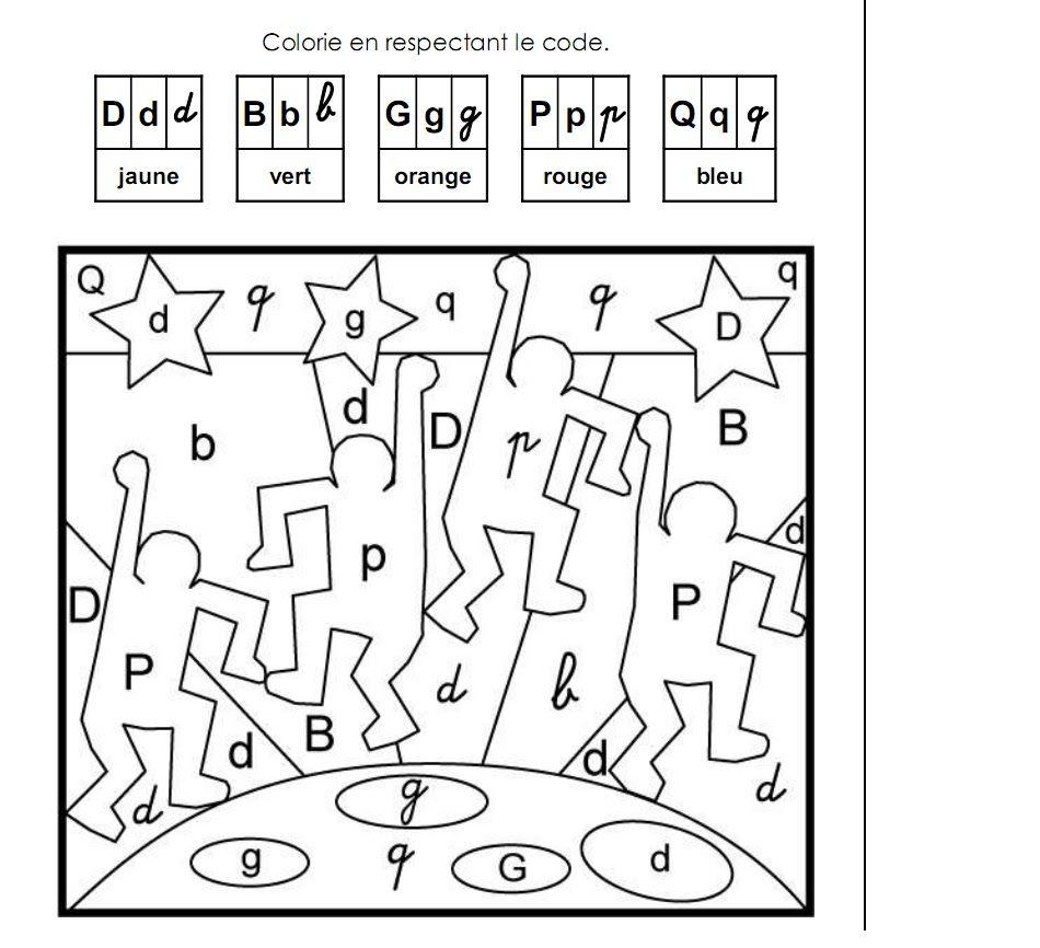 Coloriage Alphabet Ms.Coloriage Magique Cp A Colorier Dessin A Imprimer Lettres