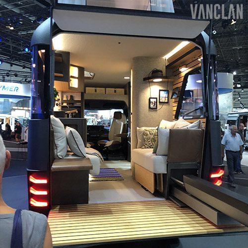 Hymer Vision Venture Inside The Million Dollar Camper In 2020 Van Conversion Interior Luxury Van Mercedes Camper