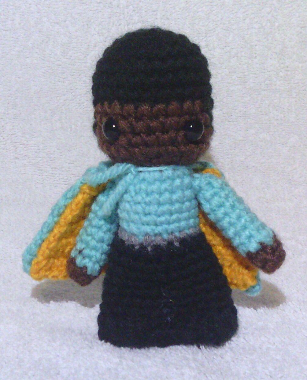 Lando - Star Wars Mini Amigurumi - Based off of Pattern by Lucy ...