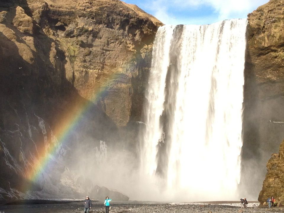 Skógafoss in South, Iceland - very close to Ring Road and lots of great little photo opps near the road in this area.