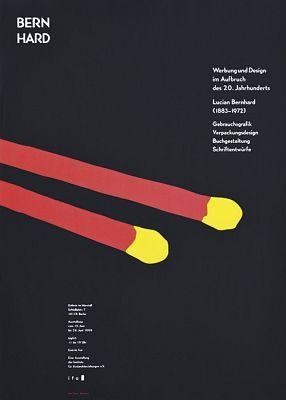 Hubert Riedel, Lucian Bernhard, 1999