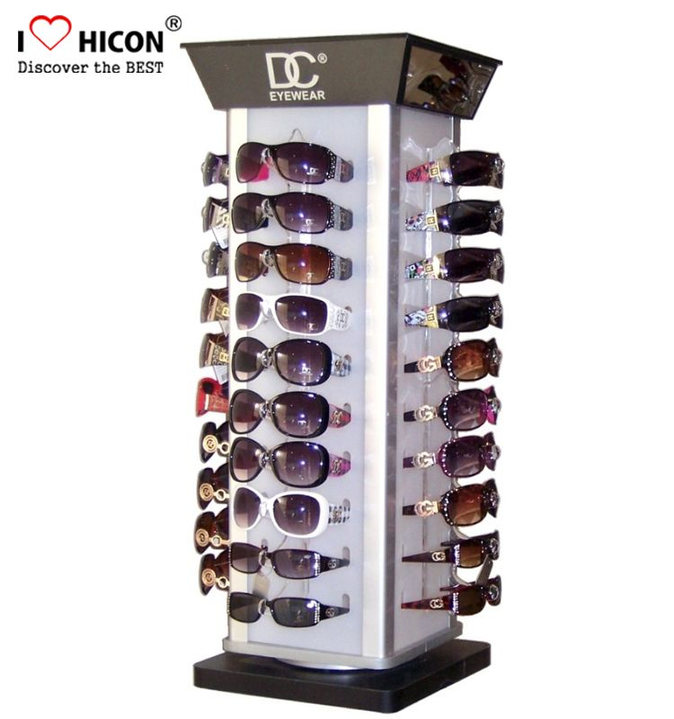 Counter Top Sunglasses Display Stand For Retail Shop From Hicon