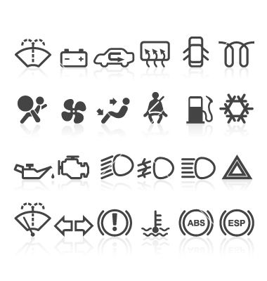 car indicator lights coloring pages | Pin on Icons