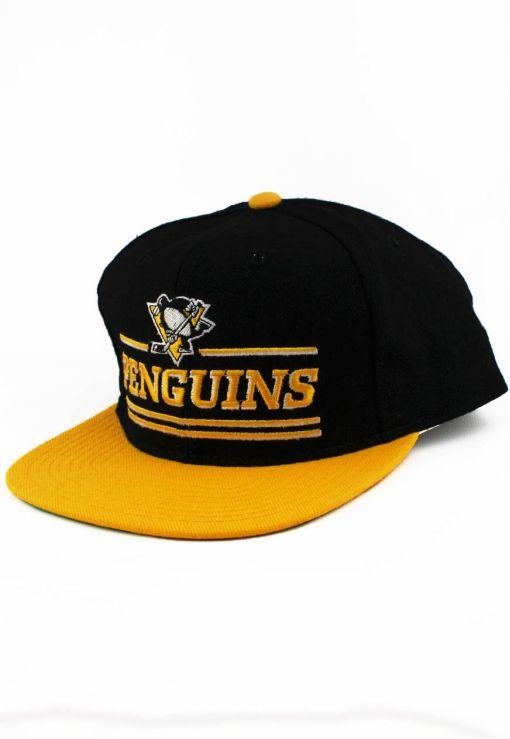 9c018396b3da7 Vintage Pittsburgh Penguins Starter Snapback
