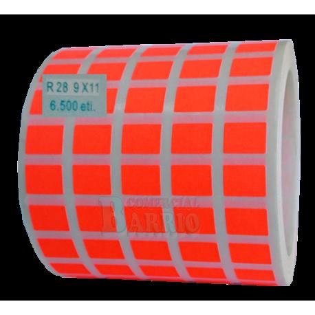 Etiquetasadhesivas adhesivas para precios en papel fluor for Precio papel vinilico pared