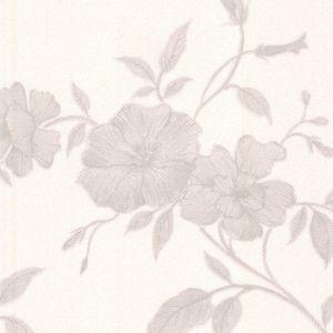 Tapestry Trail Wallpaper - White