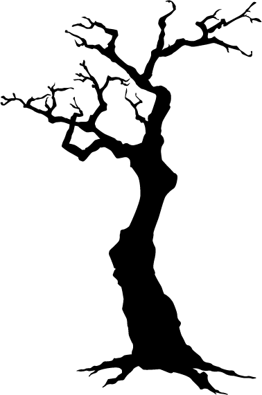 Loading Silhouette Stencil Tree Drawing Tree Silhouette