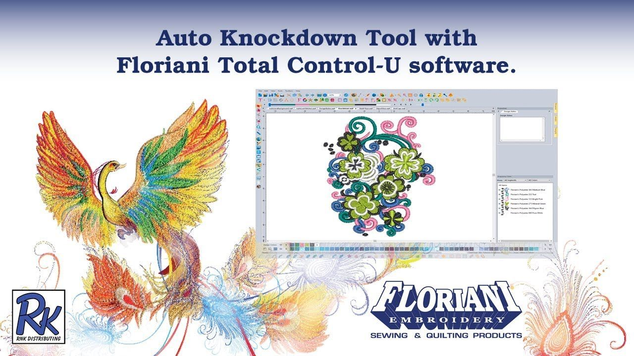 Floriani FTCU Auto Knockdown Tool Floriani, Embroidery
